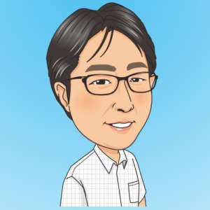 石川敏男の似顔絵